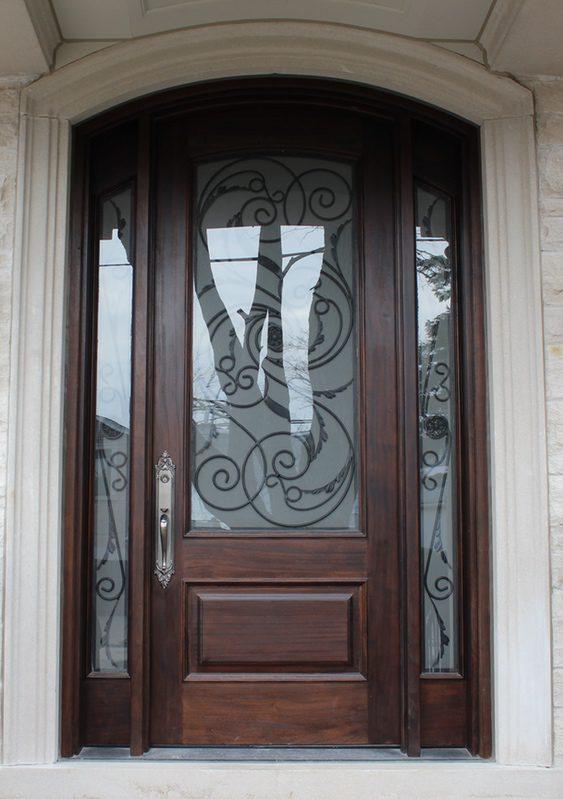 classic-solid wood door