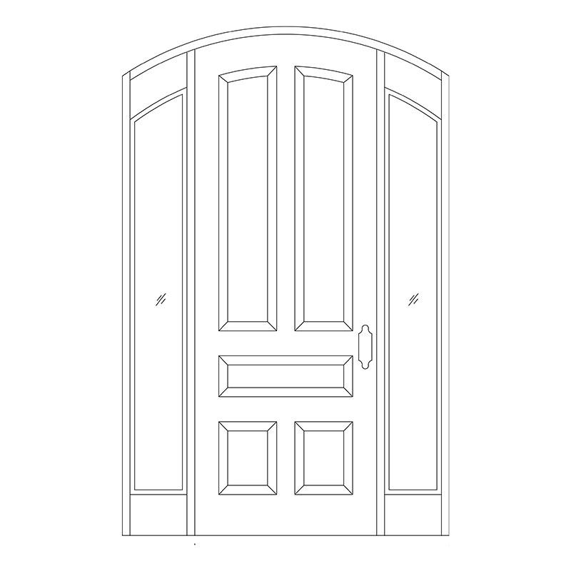 door-drawing-(1)  sc 1 st  Master Doors & Line Drawing For Doors | Master Doors