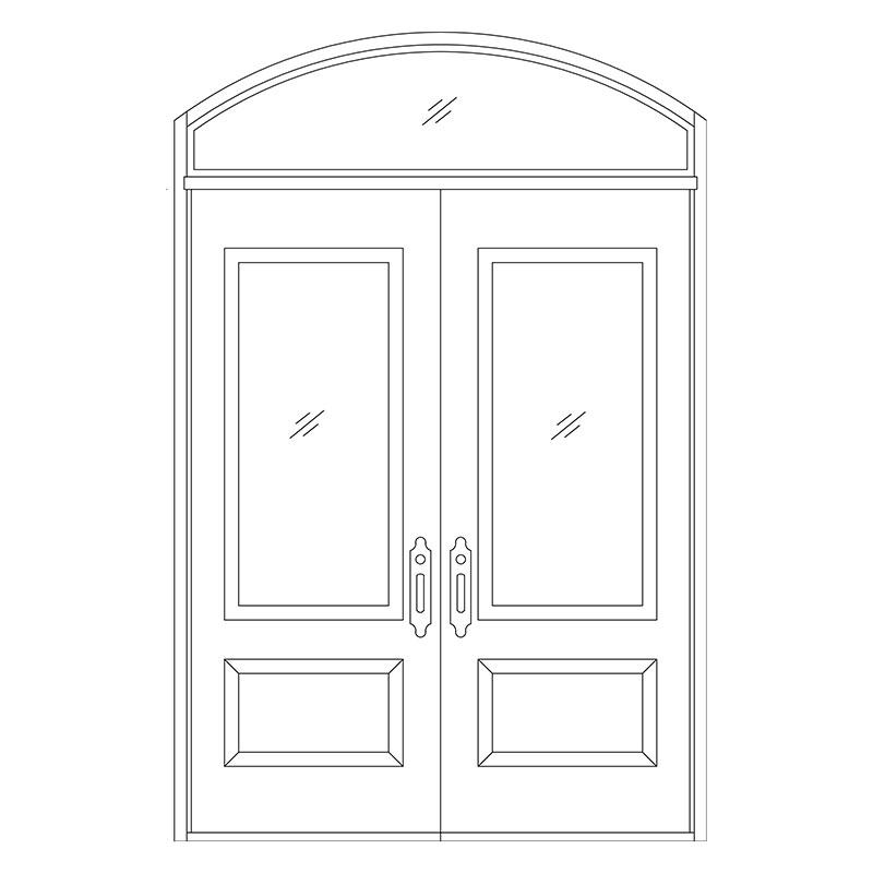 Line drawing door : Line drawing for doors master