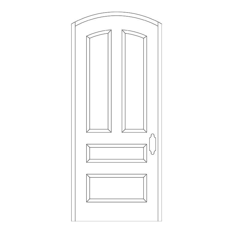 Line Drawing For Doors Master Doors