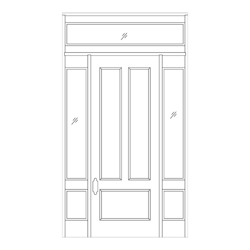 Line Drawing For Doors Master Doors