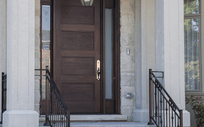 Choosing an exterior door for natural elements