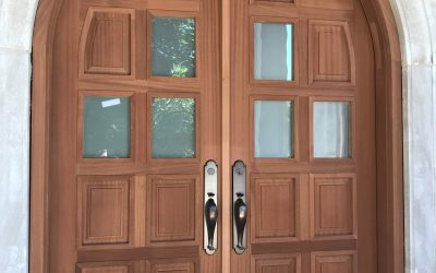 Shapes and styles for unique wood door designs