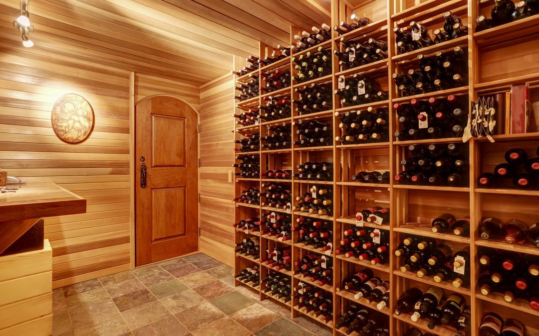 Custom Solid Wood Doors for Your Wine Cellar