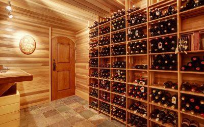Custom Solid Wood Doors for Your Wine Cellar