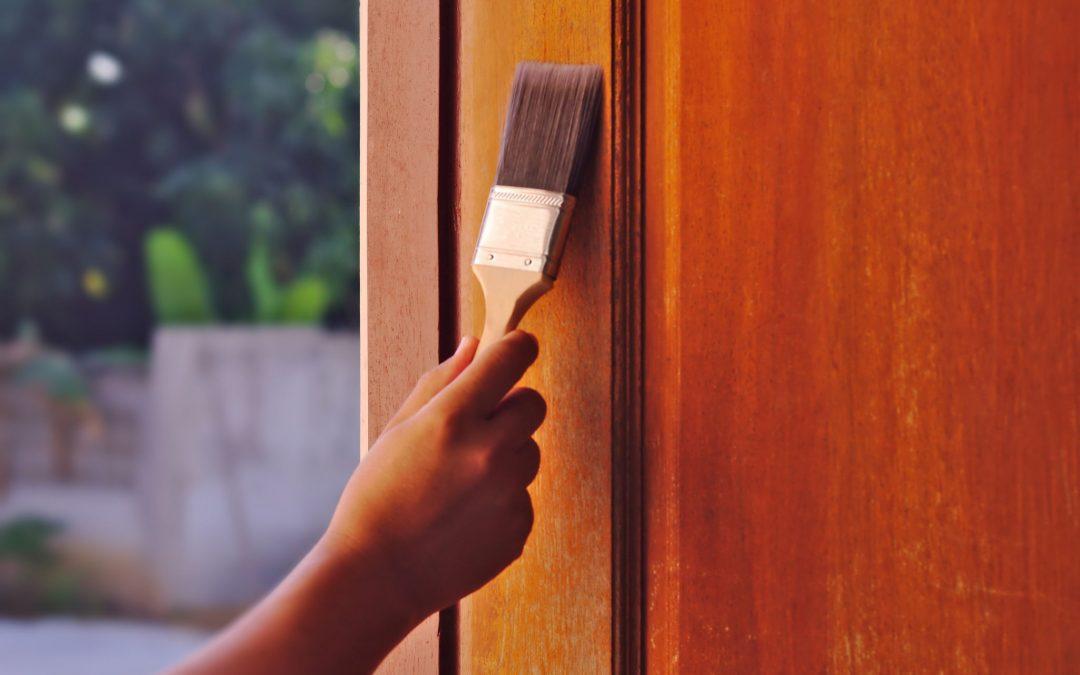 Wood Door Finishing
